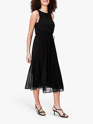 Oasis Pleated Midi Dress