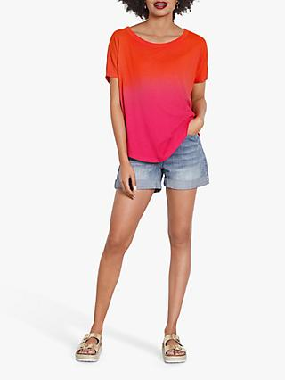 hush Lou V Back T-Shirt, Pink