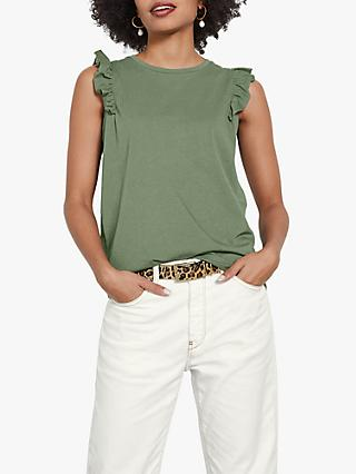 hush Frill Sleeve Top
