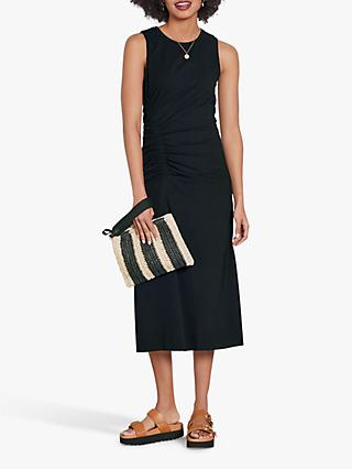 hush Judy Midi Dress, Black