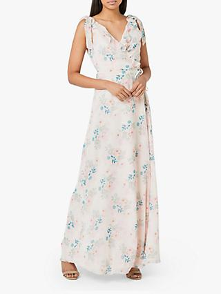 Maids to Measure Lily Floral Print Sleeveless Maxi Dress, Multi