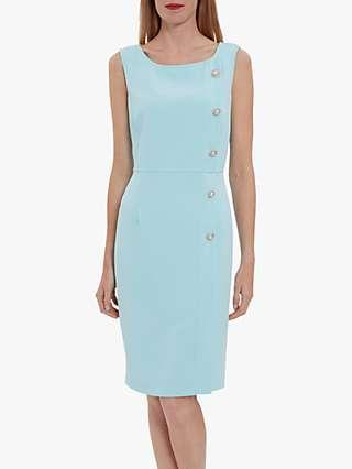 Gina Bacconi Mykia Button Midi Dress