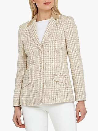 Helen McAlinden Hacking Tweed Jacket, Neutral
