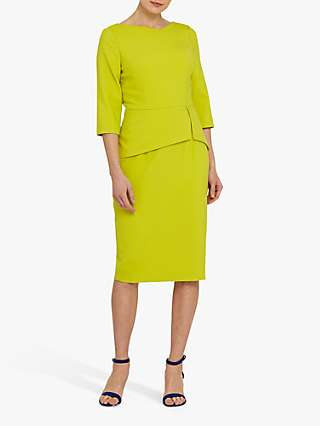 Helen McAlinden Rema Tailored Dress, Citron