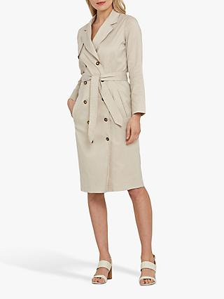 Helen McAlinden Meryl Trench Dress, Stone
