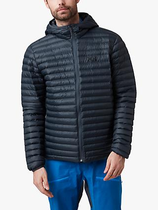 Helly Hansen Sirdal Hooded Insulator Men's Water Repellent Jacket, Slate