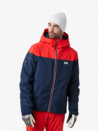 Helly Hansen Gravitation Mountain Men's Waterproof Ski Jacket, Navy