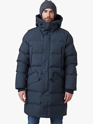 Helly Hansen Alaska Men's Insulated Parka Jacket, Navy