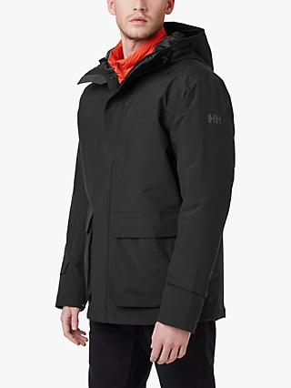 Helly Hansen Utility Men's Waterproof Jacket, Black