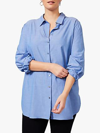 Studio 8 Frieda Chambray Shirt, Blue