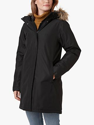 Helly Hansen Aden Women's Waterproof Parka Jacket, Black