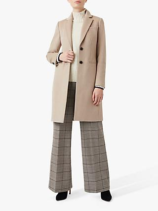 Hobbs Petite Tilda Coat, Light Pottery