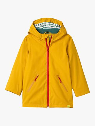White Stuff Boys' Alfie Waterproof Mac, Yolk Yellow