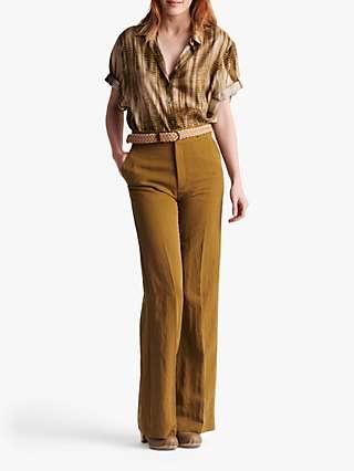 Gerard Darel Mayura Wide Leg Trousers