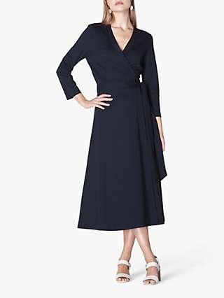 L.K.Bennett Juno Midi Dress, Midnight