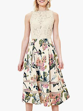 Oasis Blossom Floral Lace Dress