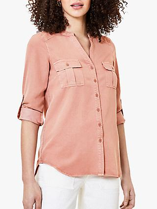 Oasis Utility Shirt, Pink