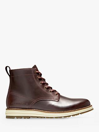 Cole Haan OriginalGrand Waterproof Work Boots, Chestnut