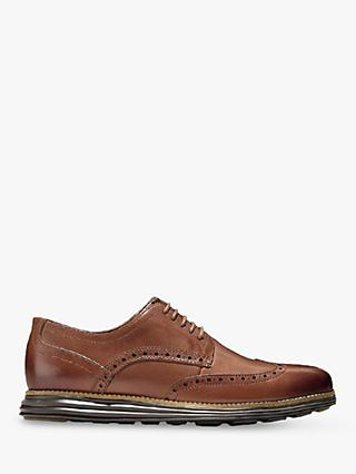 Cole Haan Original Grand Wingtip Leather Oxford Shoes