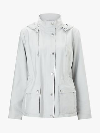 Four Seasons Safari Hooded Jacket, Silver