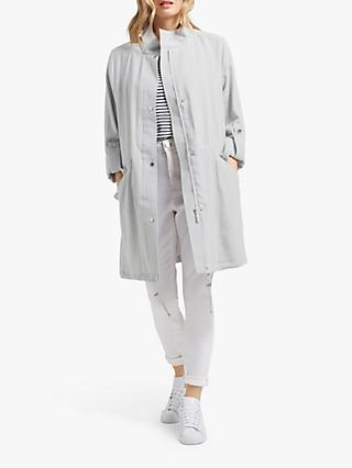 Four Seasons Unlined Parka Jacket, Soft Grey