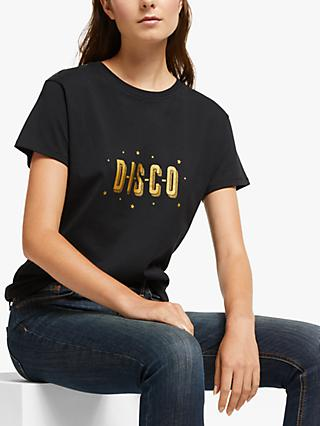 AND/OR Disco T-Shirt, Black