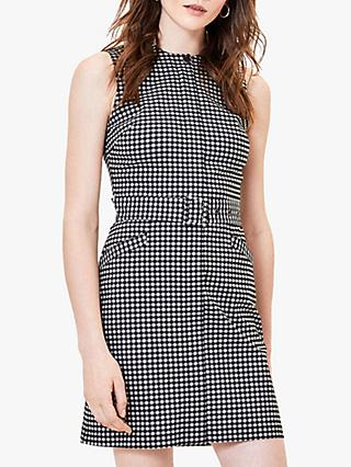 Oasis Gingham Shift Dress, Multi