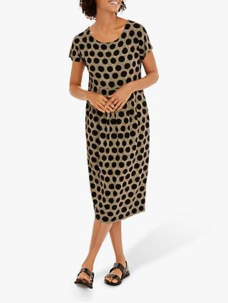 Masai Copenhagen Olina Polka Dot Tulip Dress, Multi