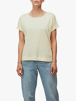 Whistles Relaxed Linen T-Shirt