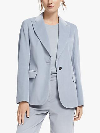 Weekend Max Mara Elia Cord Jacket, Blue
