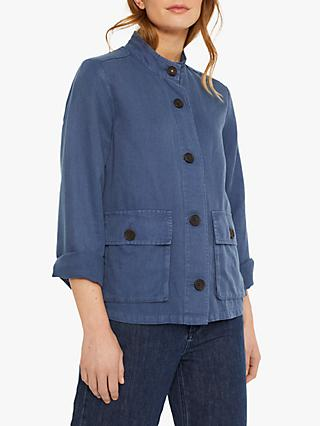 White Stuff Shelly Summer Jacket, Indigo