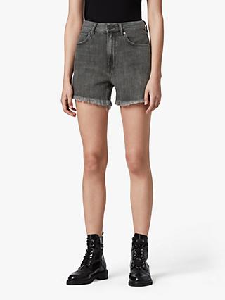 AllSaints Yanni Denim Shorts