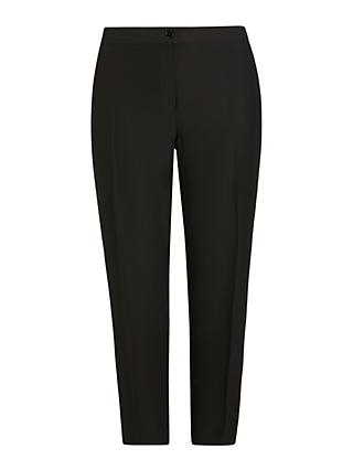 Persona by Marina Rinaldi Ramo Slim Leg Trousers, Black
