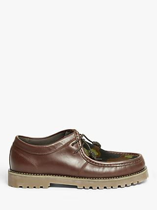 John Lewis & Partners Pony Hair Trapper Shoes, Brown