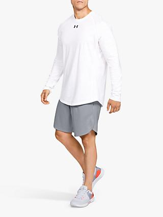 Under Armour Knit Performance Training Shorts, Mod Grey