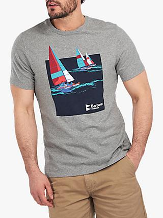 Barbour Seaton Mariner T-Shirt, GY52 Grey