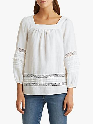 Lauren Ralph Lauren Chanse Top, White