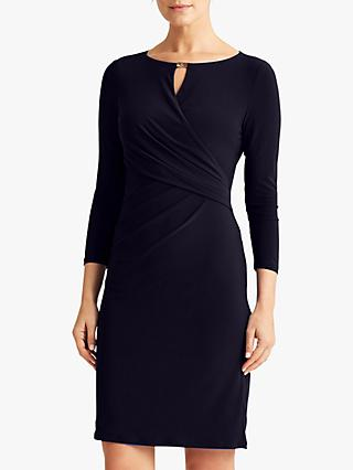 Lauren Ralph Lauren Carlonda Day Dress, Lighthouse Navy
