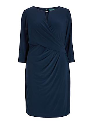 Lauren Ralph Lauren Curve Carlonda Day Dress, Lighthouse Navy