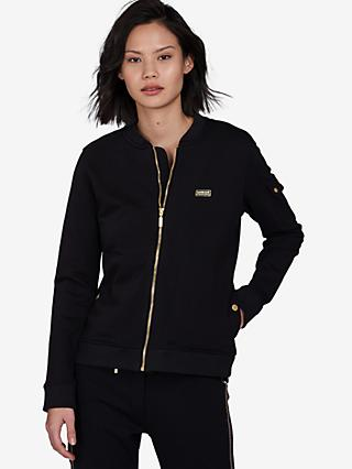 Barbour International Magna Jersey Jacket, Black
