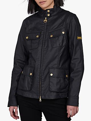 Barbour International Thunderbolt Jacket, Black
