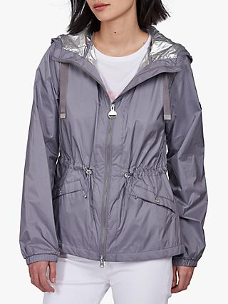 Barbour International Magna Showerproof Jacket, Moonstone