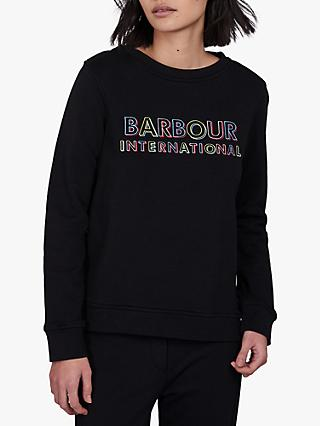 Barbour International Interceptor Sweatshirt, Black