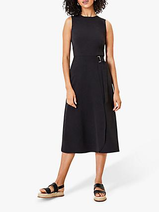 Oasis Side Buckle Midi Dress