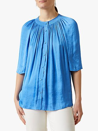 Jigsaw Crocus Drape Gathered Top