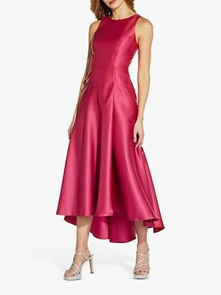Adrianna Papell Mikado Waist Gown, Camellia