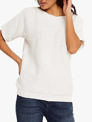 White Stuff Rye Tape Short Sleeve Jumper