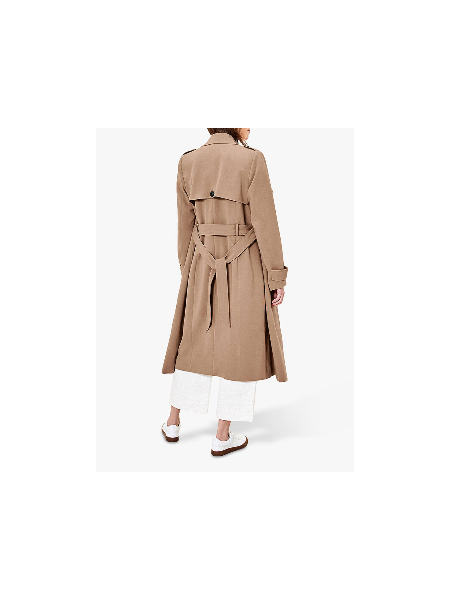 Oasis Trench Coat | Neutral at John Lewis & Partners