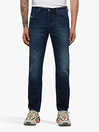 Diesel Larkee-Beex 009ER Tapered Jeans, Mid Blue