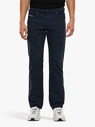 Diesel Mihtry 009HA Straight Coloured Jeans, Navy Blue